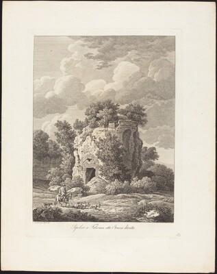 Sepolcro a Falerium città Etrusca ditrutta