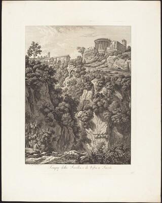 Tempj della Sibilla e Vesta a Tivoli