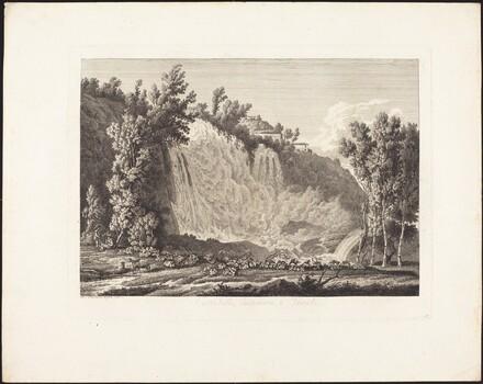 Cascatella Superiore a Tivoli