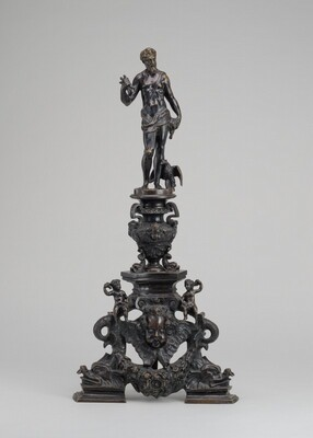 Andiron with Figure of Jupiter