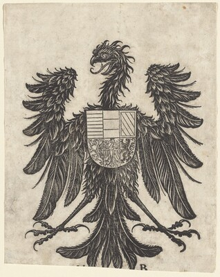 Coat of Arms with a Single Eagle