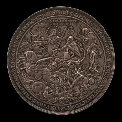 Triumph of King Gustavus Adolphus [reverse]