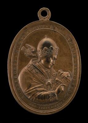 Gregory XVI (Bartolomeo Alberto Cappellari, 1765-1846), Pope 1830 [obverse]