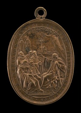 Saint Romuald, Founder of the Camaldolese Order [reverse]