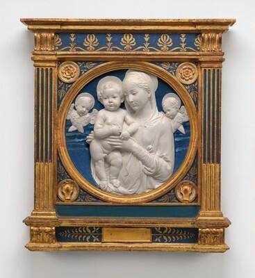 Madonna and Child with Cherubim