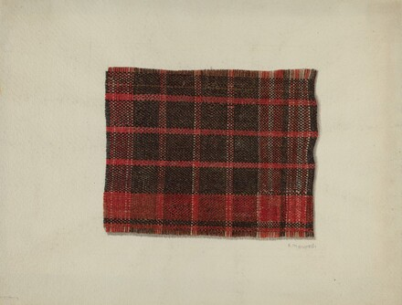 Piece of Wool Plaid