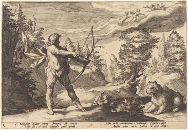 Arcas Preparing to Kill His Mother