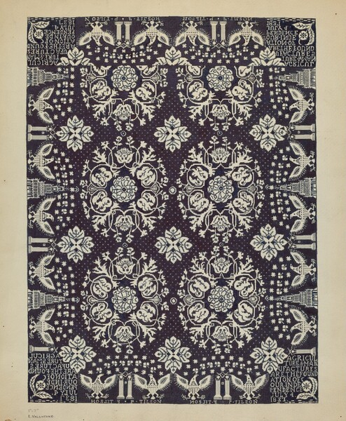 Woven Bedspread