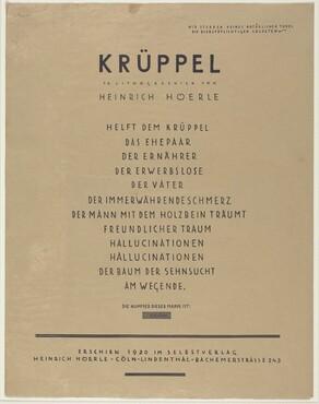 Krüppel (Cripples)