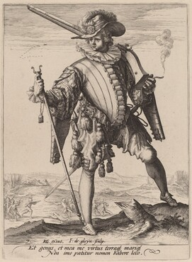 Soldier with Arquebus