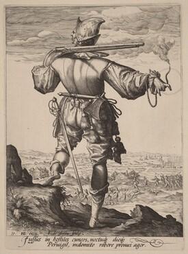 Helmeted Musketeer