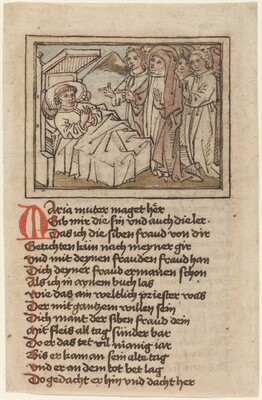 The Virgin Appearing to a Dying Priest