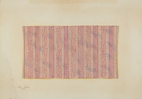 Girl's Wrapper - Textile Pattern