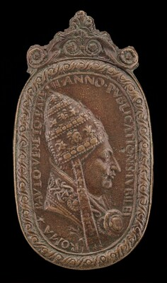 Paul II (Pietro Barbo, 1417-1471), Pope 1464 [obverse]