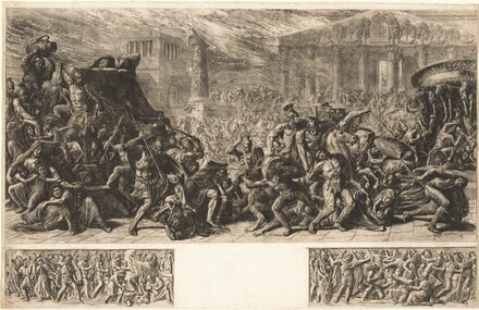 The Sack of the Temple at Jerusalem
