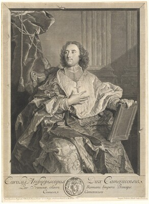 Monseigneur Louis-Charles d'Orléans de Saint-Albin, Archbishop of Cambrai