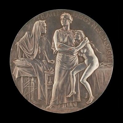 Allegory of the Fight Against Death [reverse]