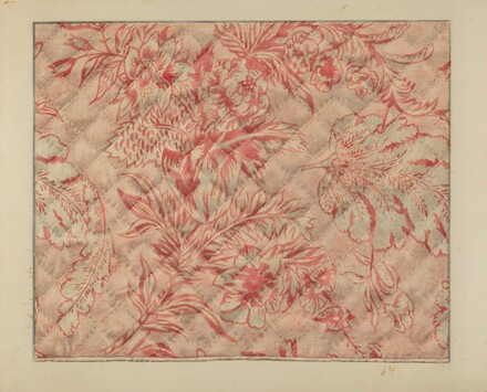 Infant's Quilt (Detail)