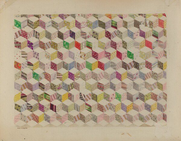 Patchwork for Quilt