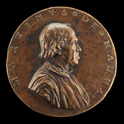 Maarten de Hane, 1475-1556, Flemish Merchant [obverse]