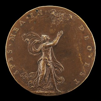 Hope with Hands Raised in Prayer [reverse]