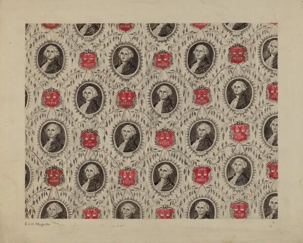 Portrait Medallions of George Washington