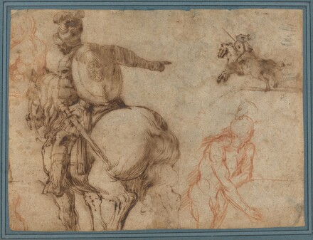 A Soldier on Horseback and Other Studies