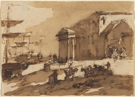 Capriccio of a Port Scene
