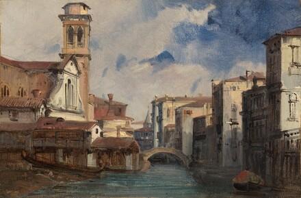 The Church of San Trovaso, Venice