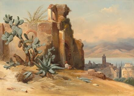 Ancient Ruins near Messina, Sicily