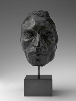 Portrait Mask of Etienne Carjat