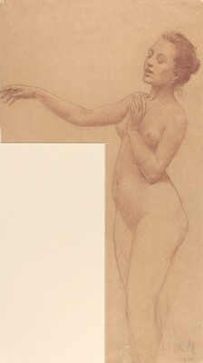 Female Nude with Outstretched Arm