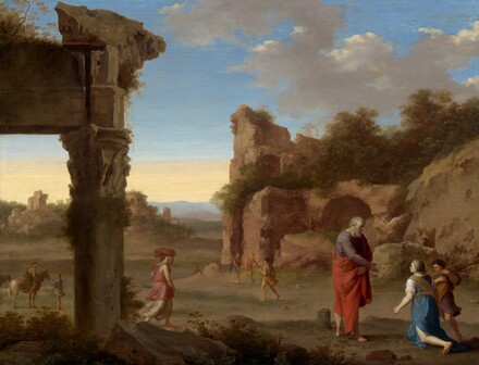 The Prophet Elijah and the Widow of Zarephath