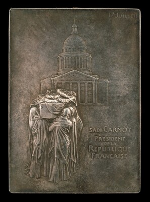 The Body of President Sadi Carnot Borne to the Panthéon [obverse]