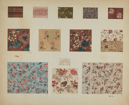 Textiles in Patchwork Quilt