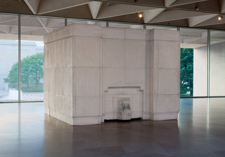Rachel Whiteread, Ghost, 1990