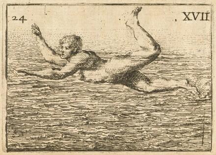 L'Art de Nager, demontré par figures, avec des avis pour se baigner utilement