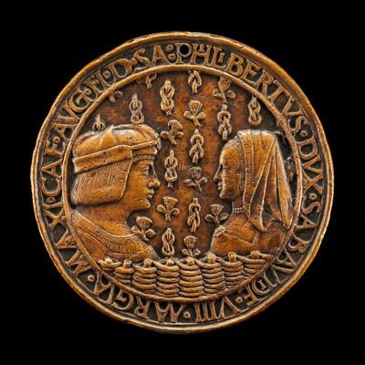 Filiberto II le Beau (the Fair), 1480-1504, 8th Duke of Savoy 1497, and Margaret of Austria, 1480-1530, His Wife [obverse]