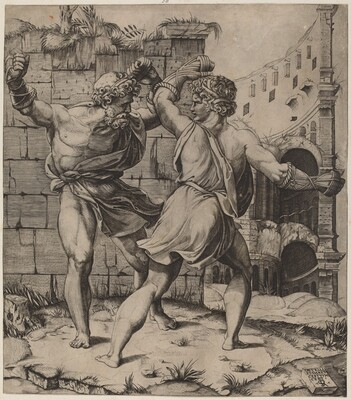 Entellus and Dares
