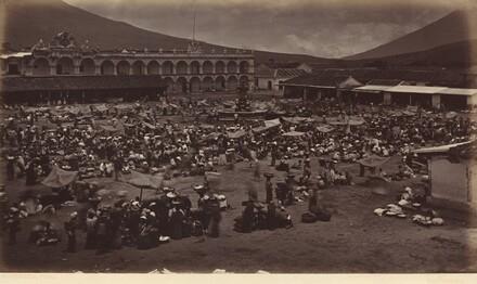 Plaza and Viceroy's Palace-Antigua de Guatemala