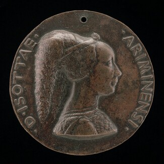 Isotta degli Atti, 1432/1433-1474, Mistress 1446, then Wife after 1453, of Sigismondo Malatesta [obverse]