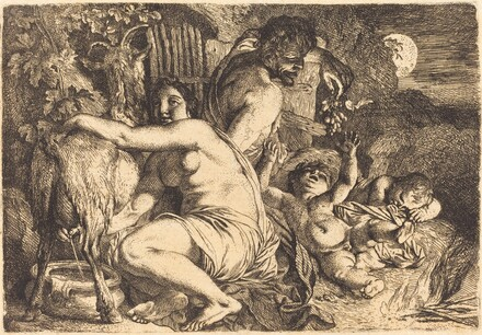The Satyr's Family