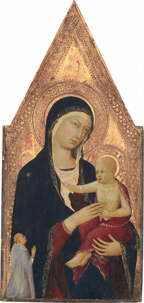 Madonna and Child with Donor