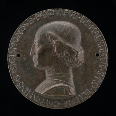 Sigismondo Pandolfo Malatesta, 1417-1468, Lord of Rimini and Fano [obverse]