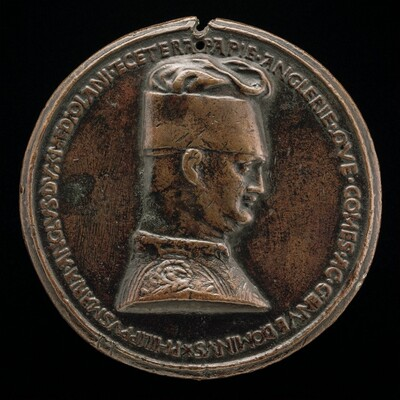 Filippo Maria Visconti, 1392-1447, Duke of Milan 1412 [obverse]