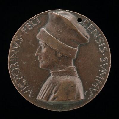 Vittorino de' Rambaldoni da Feltre, 1379-1446, Humanist [obverse]