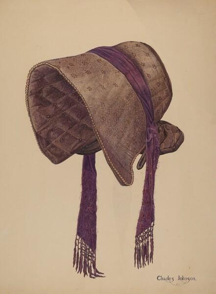 Coal Scuttle Bonnet