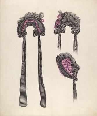 Elderly Lady's Bonnet