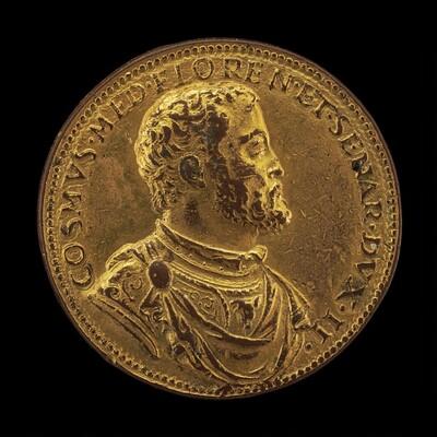 Cosimo I de' Medici, 1519-1574, Duke of Florence 1537 [obverse]