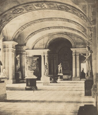 Salon of the Caryatides, Louvre